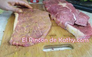 carne asada raleada